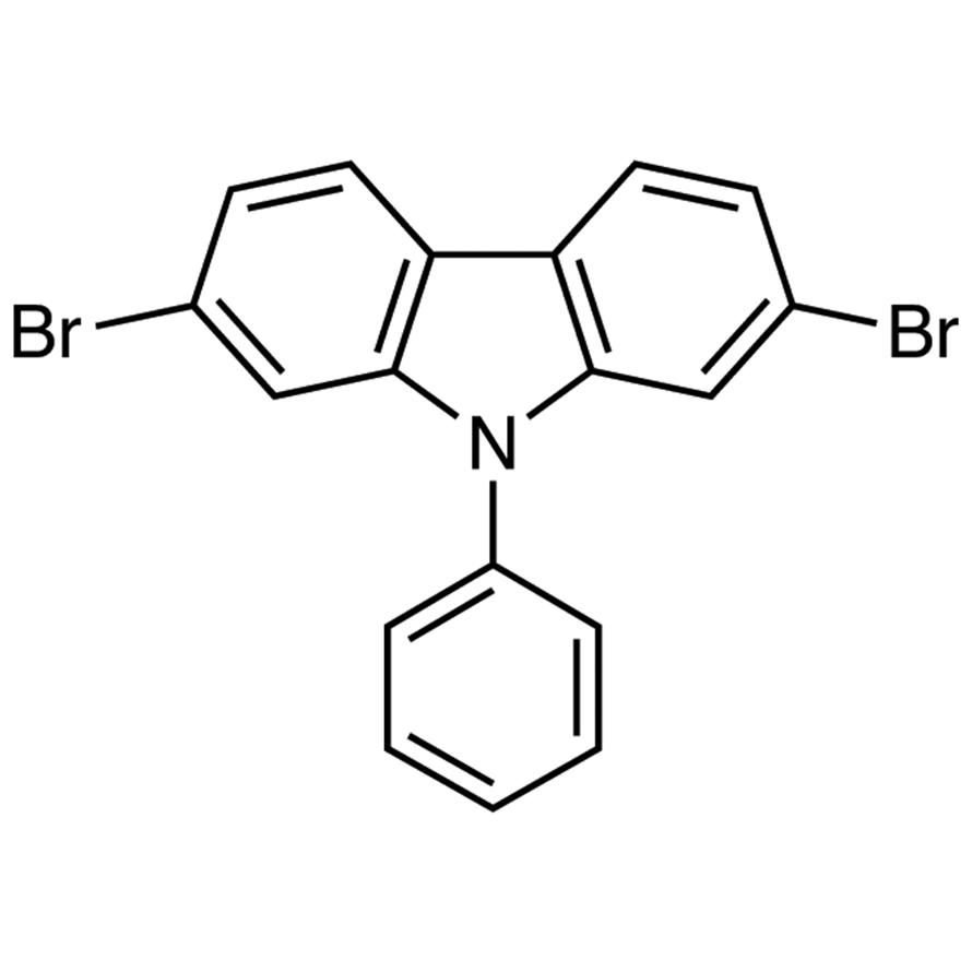 2,7-Dibromo-9-phenylcarbazole