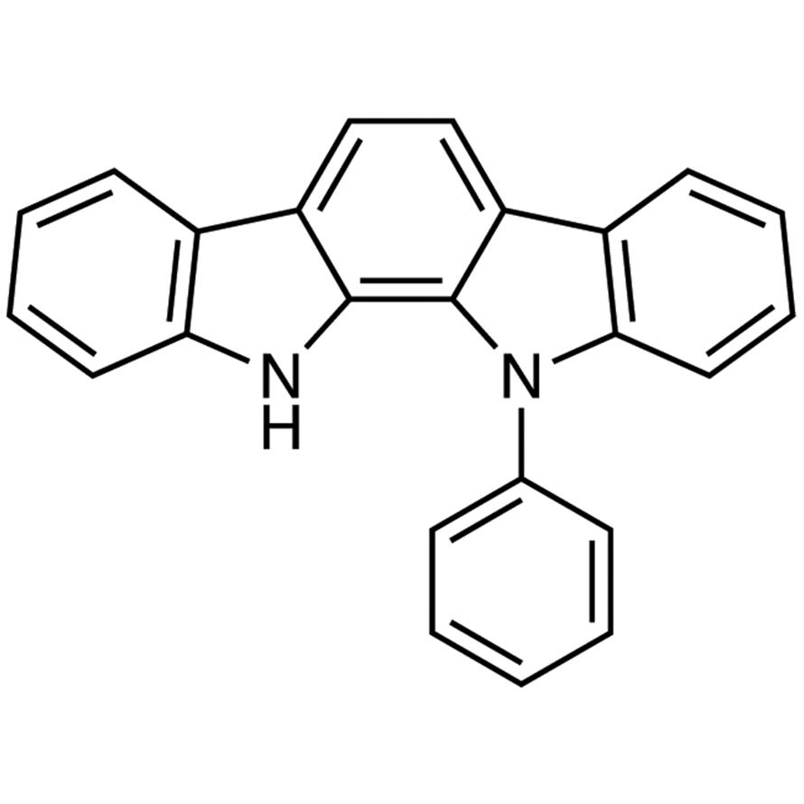11,12-Dihydro-11-phenylindolo[2,3-a]carbazole