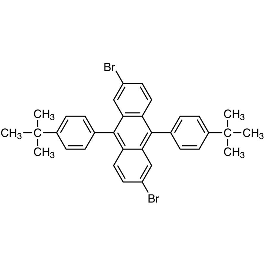 2,6-Dibromo-9,10-bis(4-tert-butylphenyl)anthracene