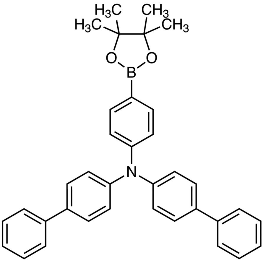 N,N-Di(4-biphenylyl)-4-(4,4,5,5-tetramethyl-1,3,2-dioxaborolan-2-yl)aniline