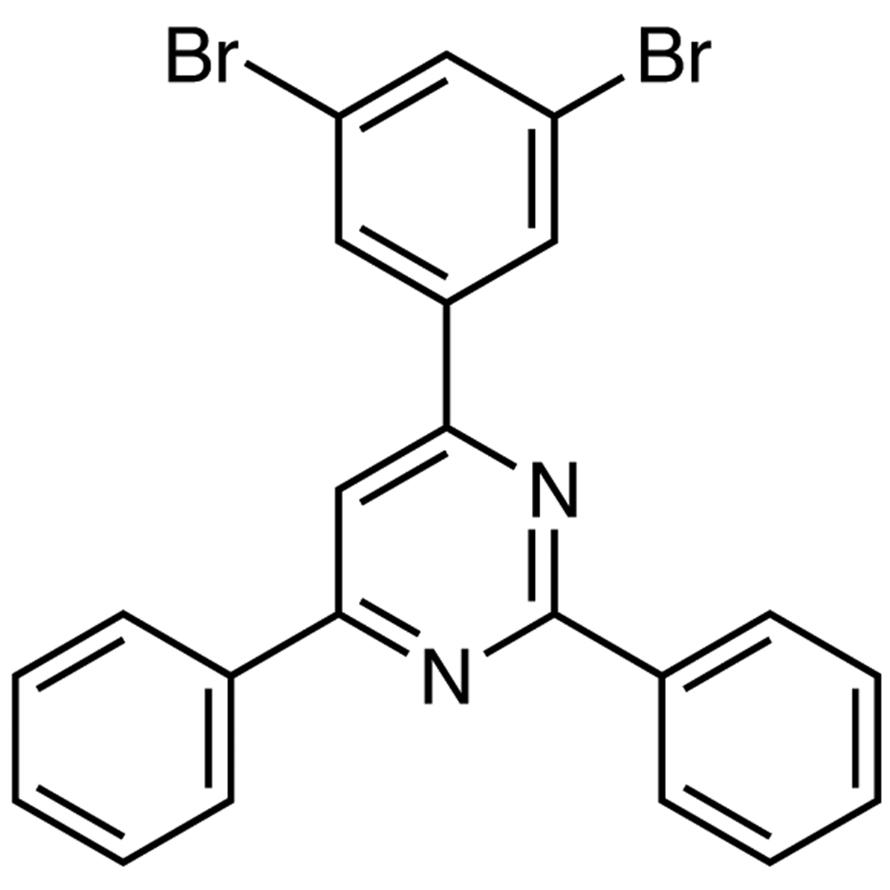 4-(3,5-Dibromophenyl)-2,6-diphenylpyrimidine