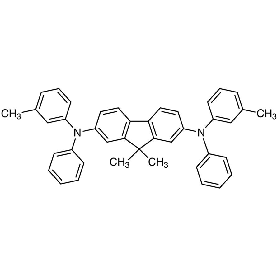 9,9-Dimethyl-2,7-bis[N-(m-tolyl)anilino]fluorene