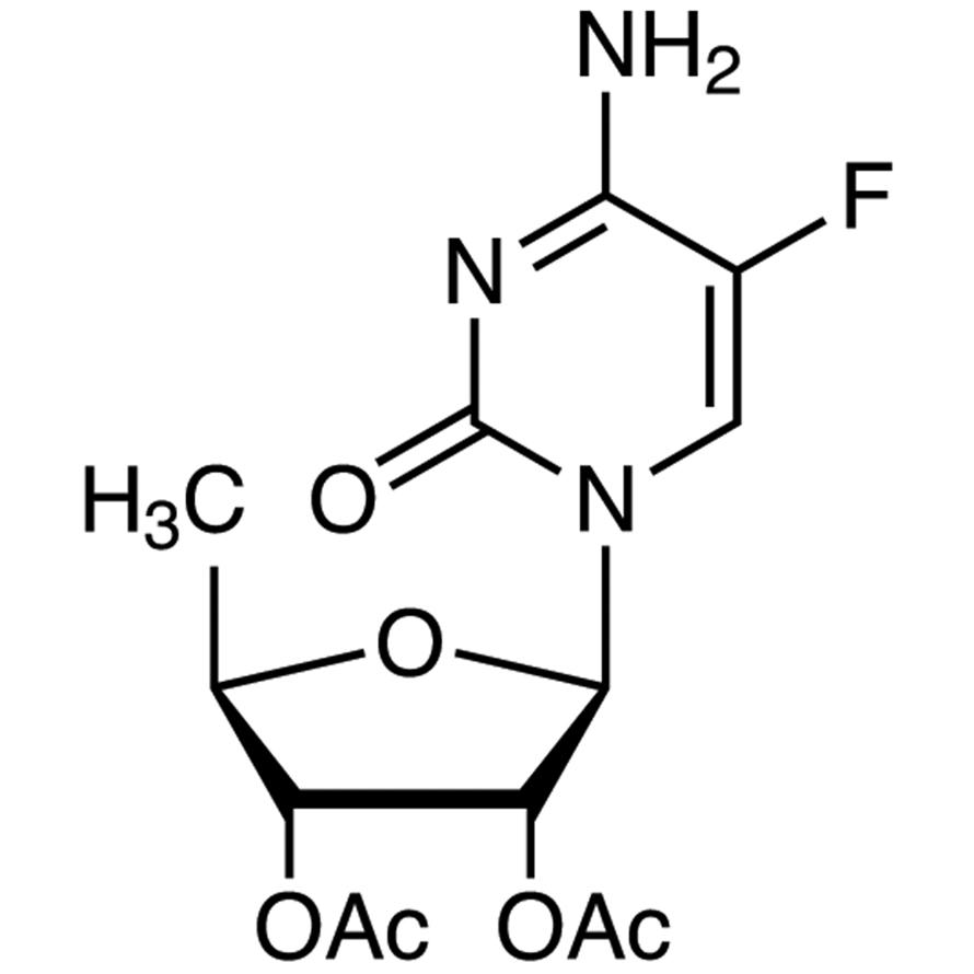 2',3'-Di-O-acetyl-5'-deoxy-5-fluorocytidine