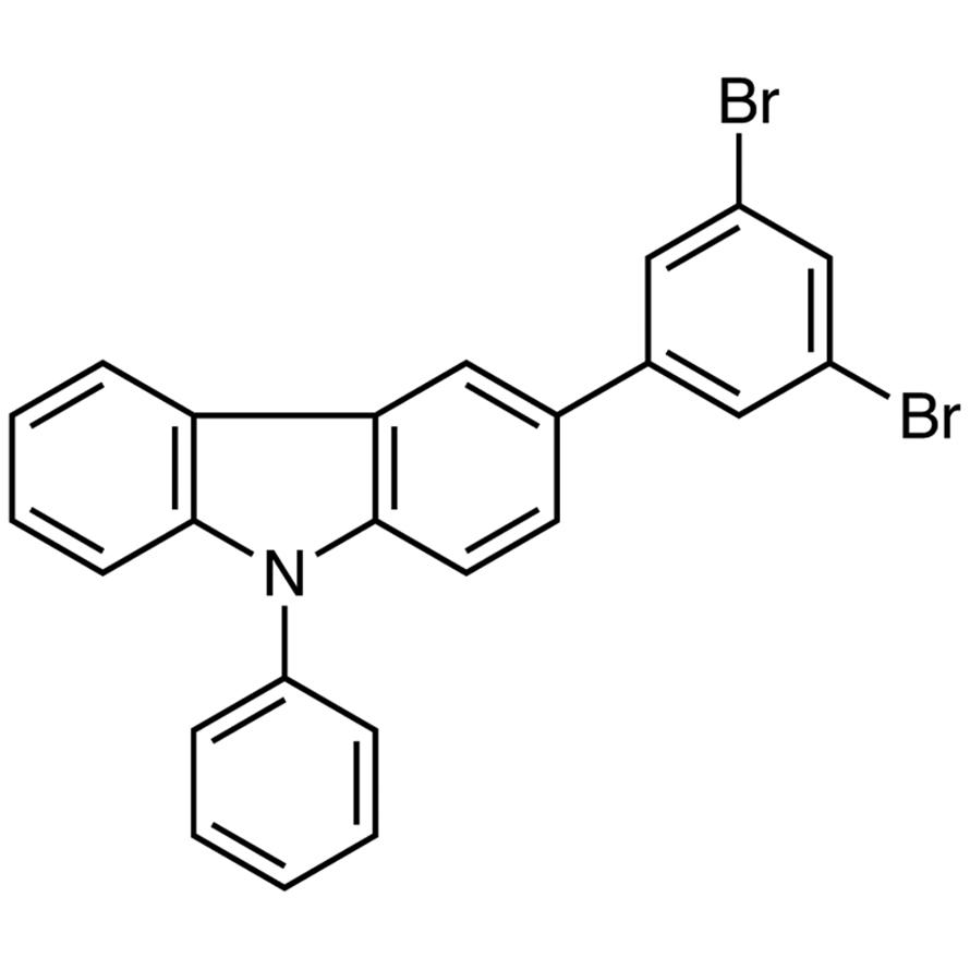 3-(3,5-Dibromophenyl)-9-phenyl-9H-carbazole