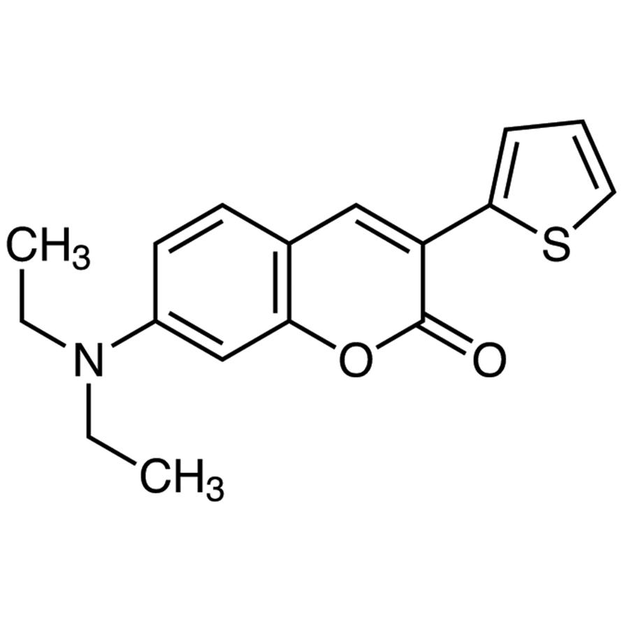 7-(Diethylamino)-3-(2-thienyl)coumarin