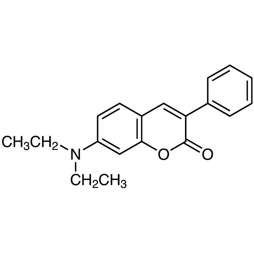 7-(Diethylamino)-3-phenylcoumarin