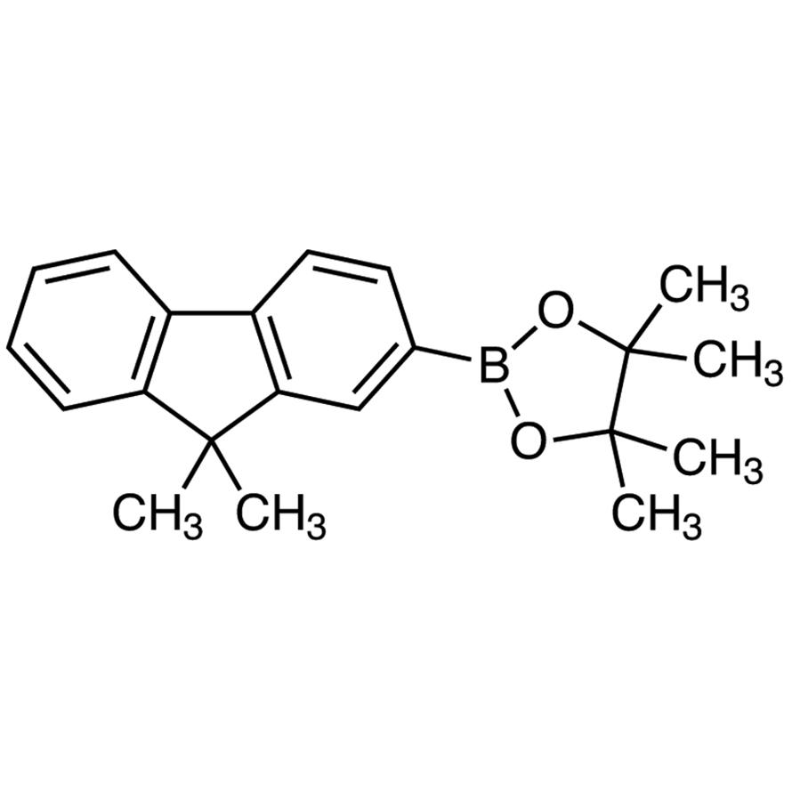 2-(9,9-Dimethyl-9H-fluoren-2-yl)-4,4,5,5-tetramethyl-1,3,2-dioxaborolane