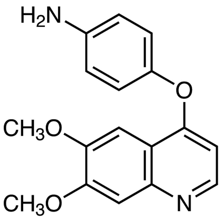 4-[(6,7-Dimethoxyquinolin-4-yl)oxy]aniline