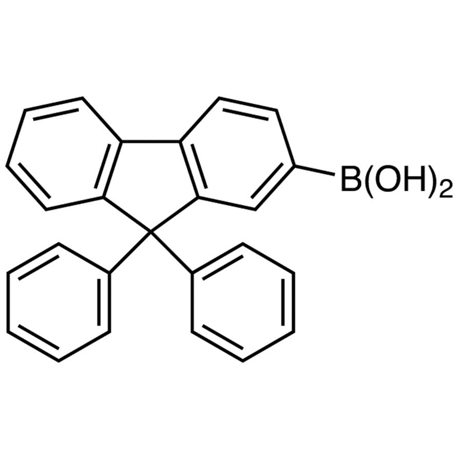 9,9-Diphenylfluorene-2-boronic Acid (contains varying amounts of Anhydride)