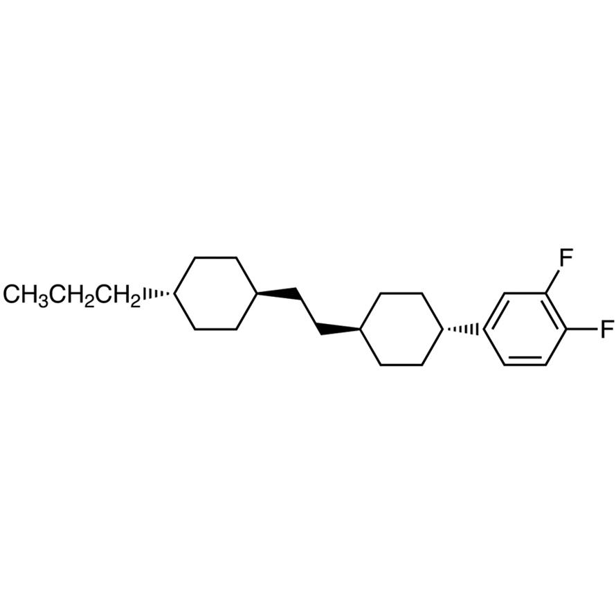 1,2-Difluoro-4-[trans-4-[2-(trans-4-propylcyclohexyl)ethyl]cyclohexyl]benzene