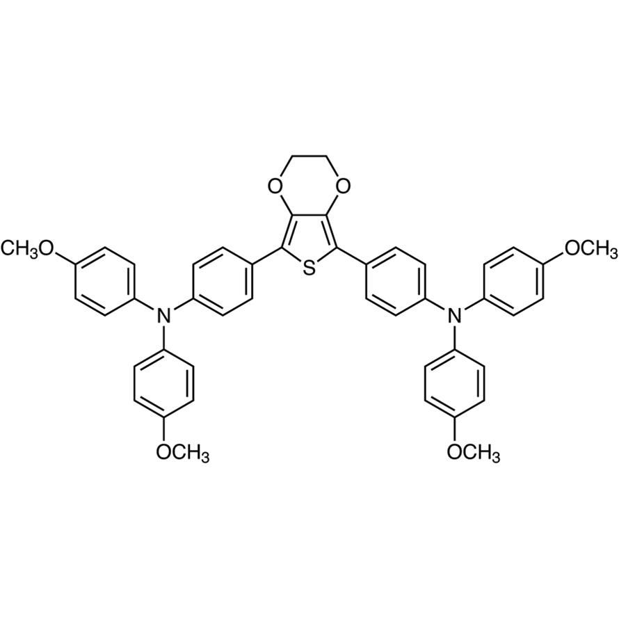 4,4'-(2,3-Dihydrothieno[3,4-b][1,4]dioxine-5,7-diyl)bis[N,N-bis(4-methoxyphenyl)aniline]