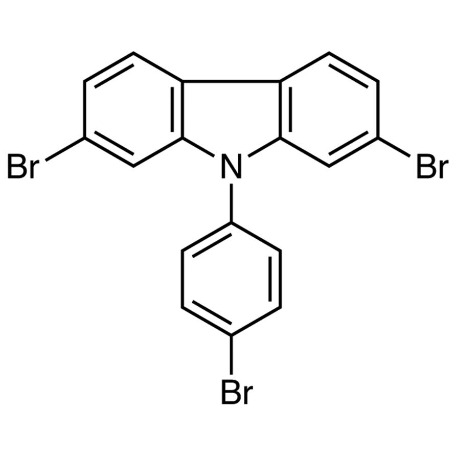 2,7-Dibromo-9-(4-bromophenyl)-9H-carbazole