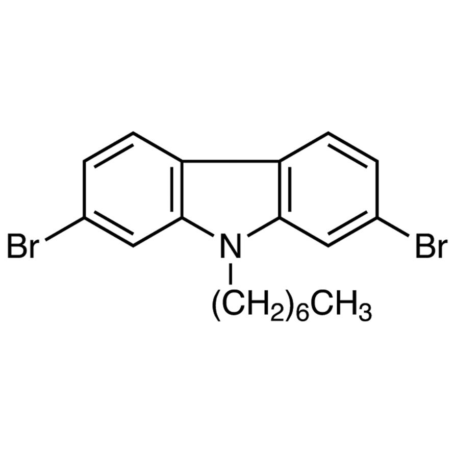 2,7-Dibromo-9-heptyl-9H-carbazole