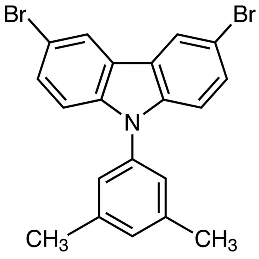 3,6-Dibromo-9-(3,5-dimethylphenyl)-9H-carbazole