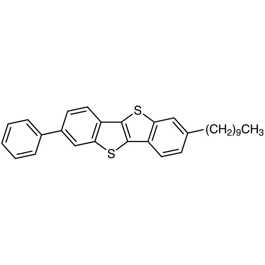 2-Decyl-7-phenyl[1]benzothieno[3,2-b][1]benzothiophene [for organic electronics]