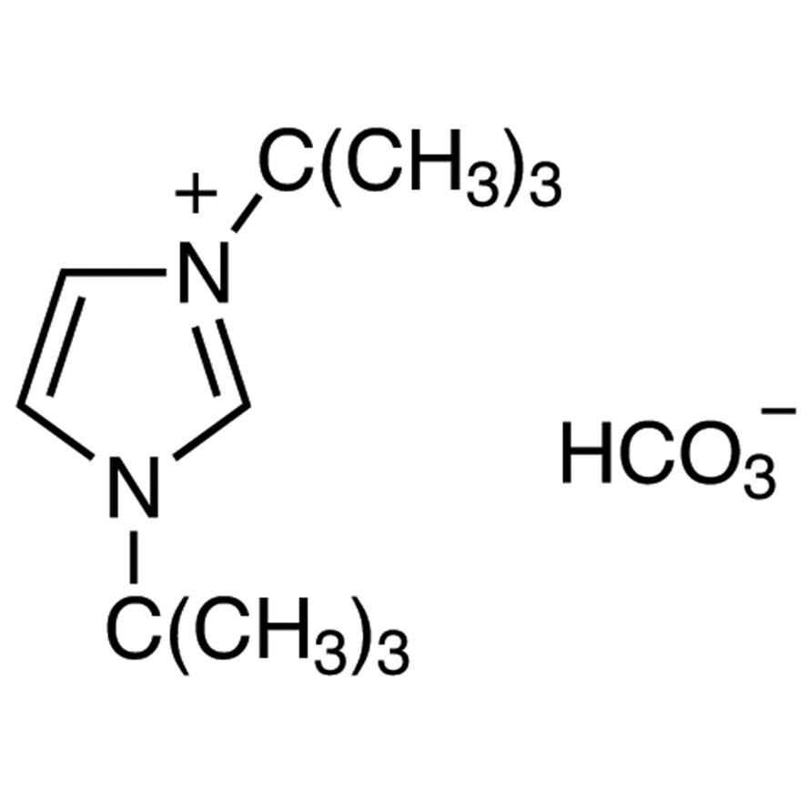 1,3-Di-tert-butylimidazolium Hydrogencarbonate (contains varying amounts of 1,3-Di-tert-butylimidazolium-2-carboxylate)