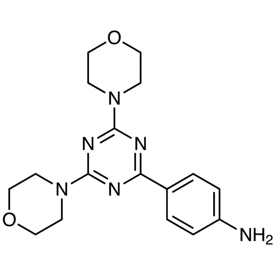4-(4,6-Dimorpholino-1,3,5-triazin-2-yl)aniline