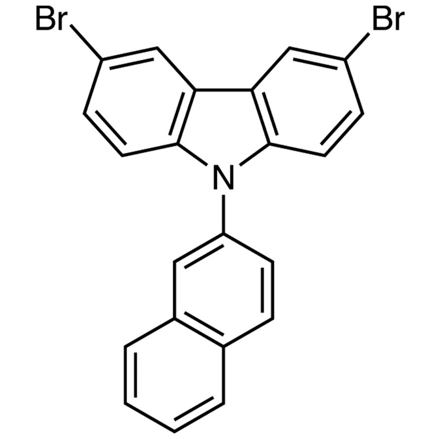 3,6-Dibromo-9-(2-naphthalenyl)-9H-carbazole