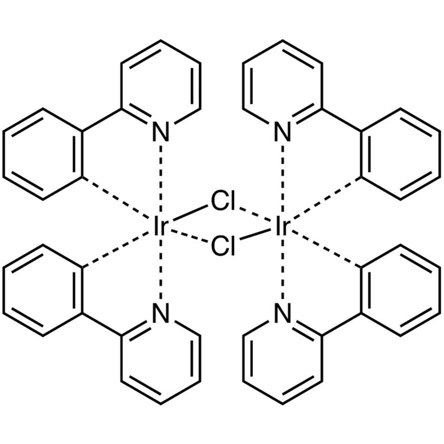 Dichlorotetrakis[2-(2-pyridinyl)phenyl]diiridium(III)