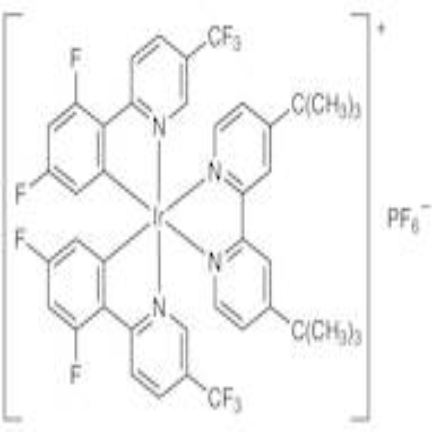 (4,4'-Di-tert-butyl-2,2'-bipyridine)bis[3,5-difluoro-2-[5-trifluoromethyl-2-pyridinyl-N)phenyl-C]iridium(III) Hexafluorophosphate