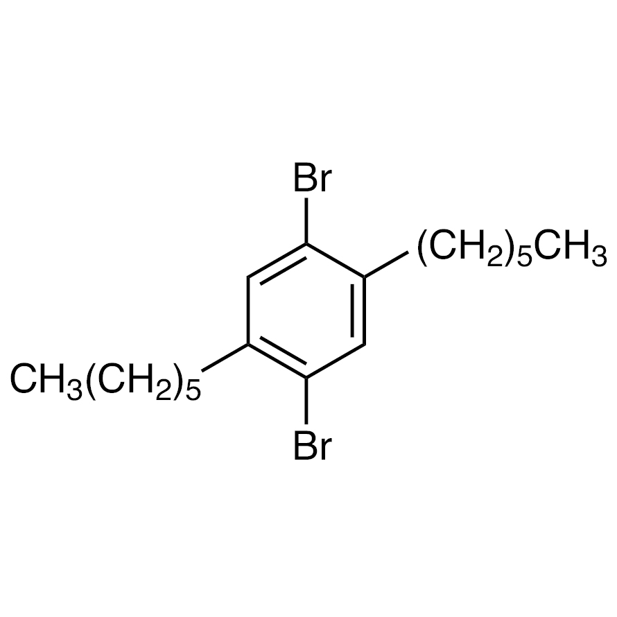 1,4-Dibromo-2,5-dihexylbenzene