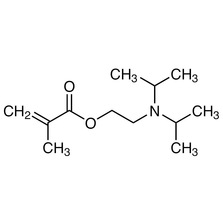 2-(Diisopropylamino)ethyl Methacrylate (stabilized with MEHQ)