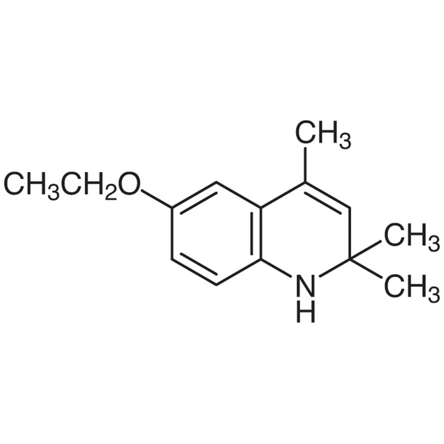 6-Ethoxy-2,2,4-trimethyl-1,2-dihydroquinoline [Antioxidant for rubber]