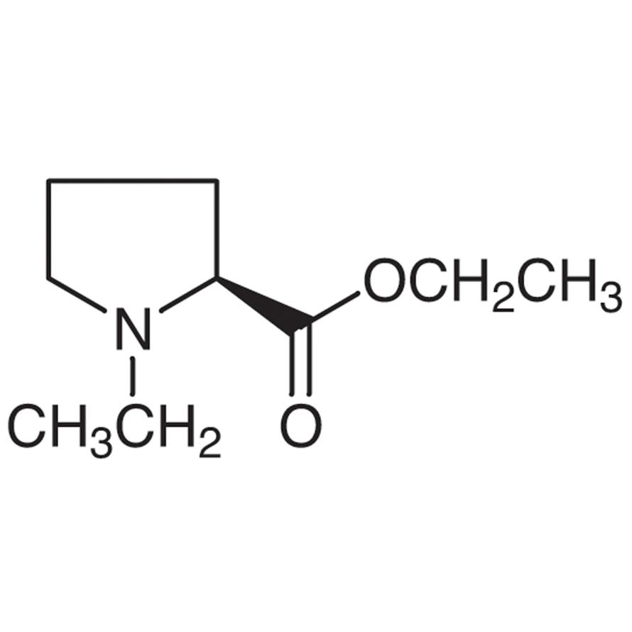 Ethyl (S)-(-)-1-Ethyl-2-pyrrolidinecarboxylate