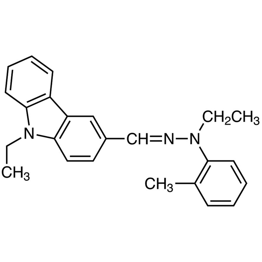 9-Ethylcarbazole-3-carboxaldehyde N-Ethyl-N-(o-tolyl)hydrazone