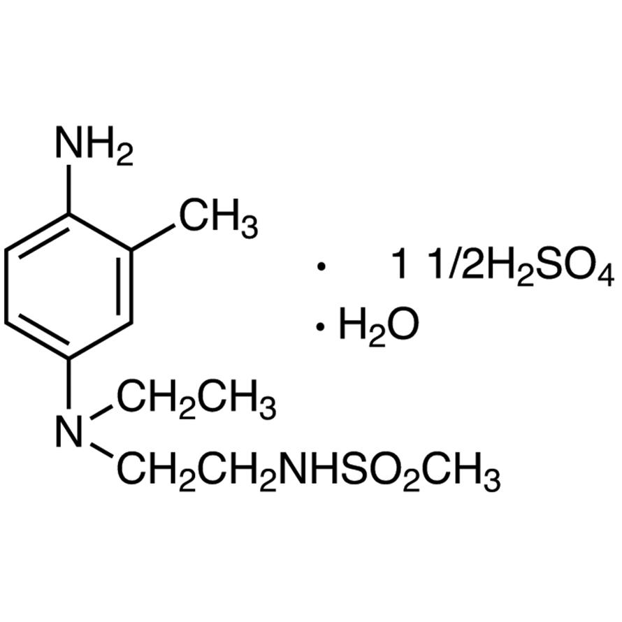 N4-Ethyl-N4-(2-methanesulfonamidoethyl)-2-methyl-1,4-phenylenediamine Sesquisulfate Monohydrate