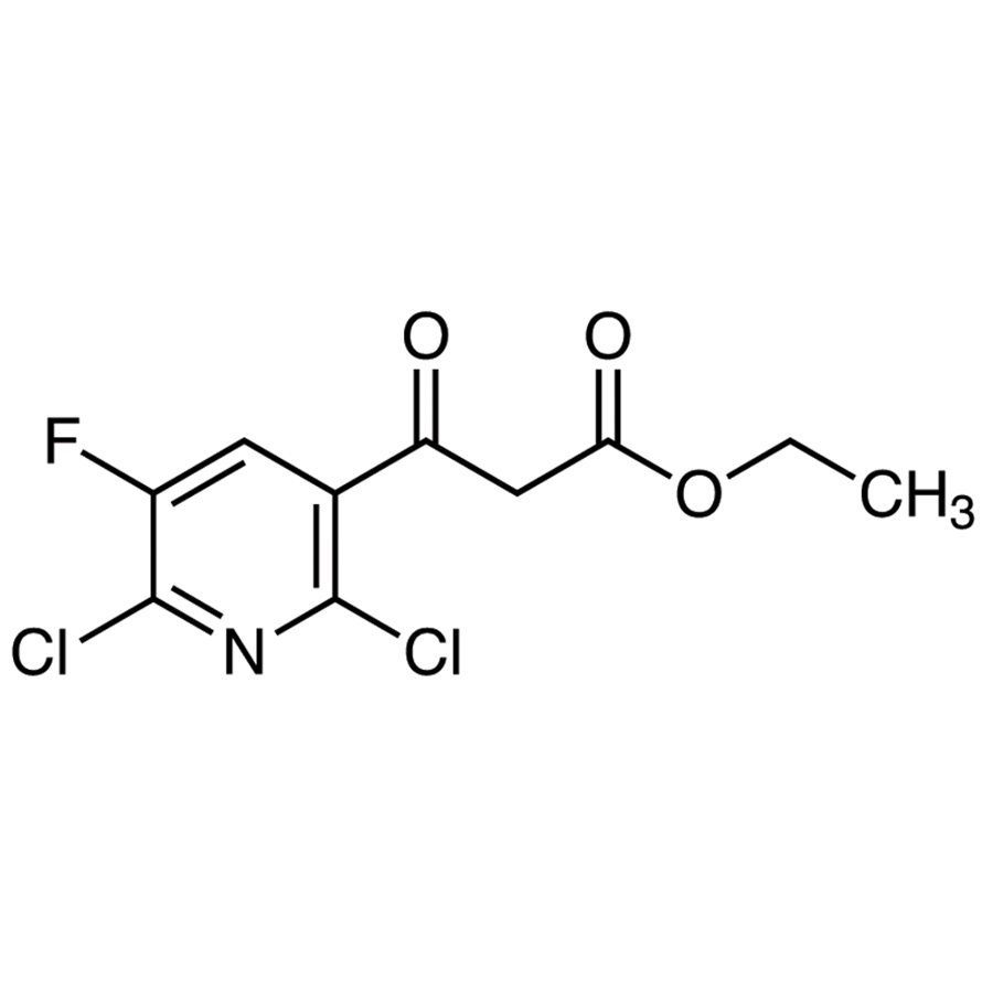 Ethyl 3-(2,6-Dichloro-5-fluoro-3-pyridyl)-3-oxopropionate