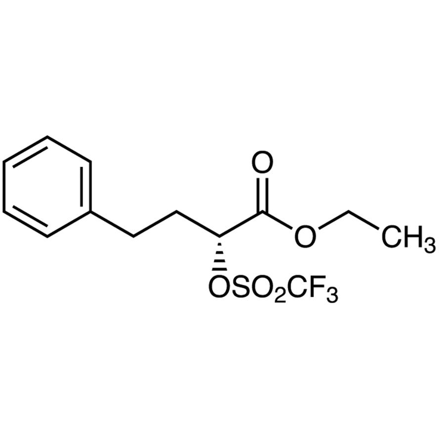 Ethyl (R)-4-Phenyl-2-(trifluoromethanesulfonyloxy)butyrate