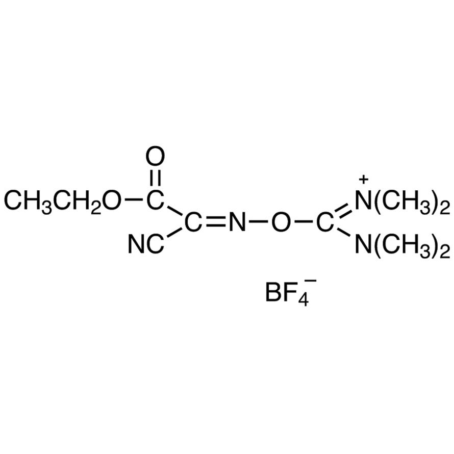 O-[(Ethoxycarbonyl)cyanomethylenamino]-N,N,N',N'-tetramethyluronium Tetrafluoroborate