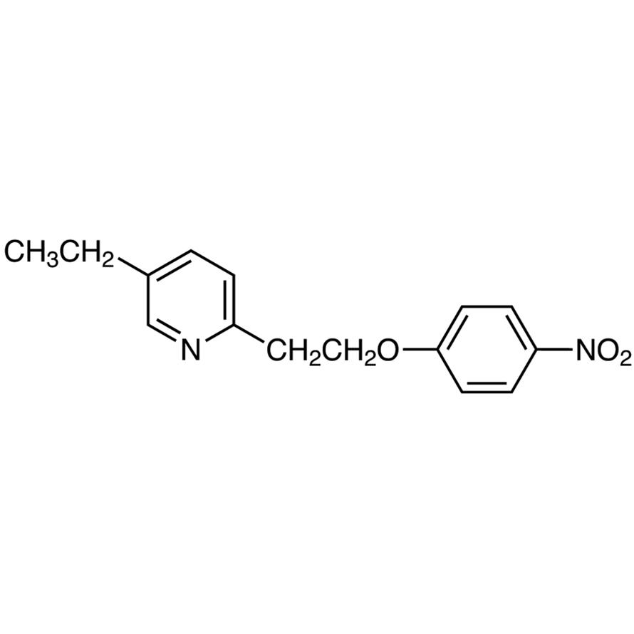 5-Ethyl-2-[2-(4-nitrophenoxy)ethyl]pyridine