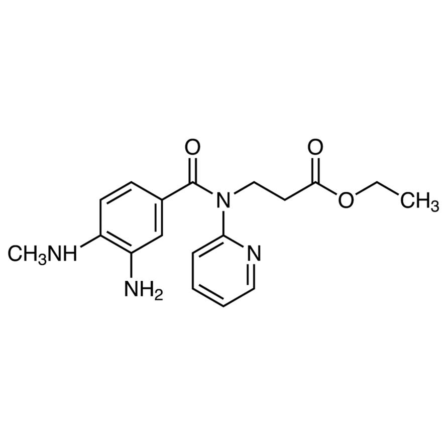 Ethyl 3-[3-Amino-4-(methylamino)-N-(2-pyridyl)benzamido]propionate