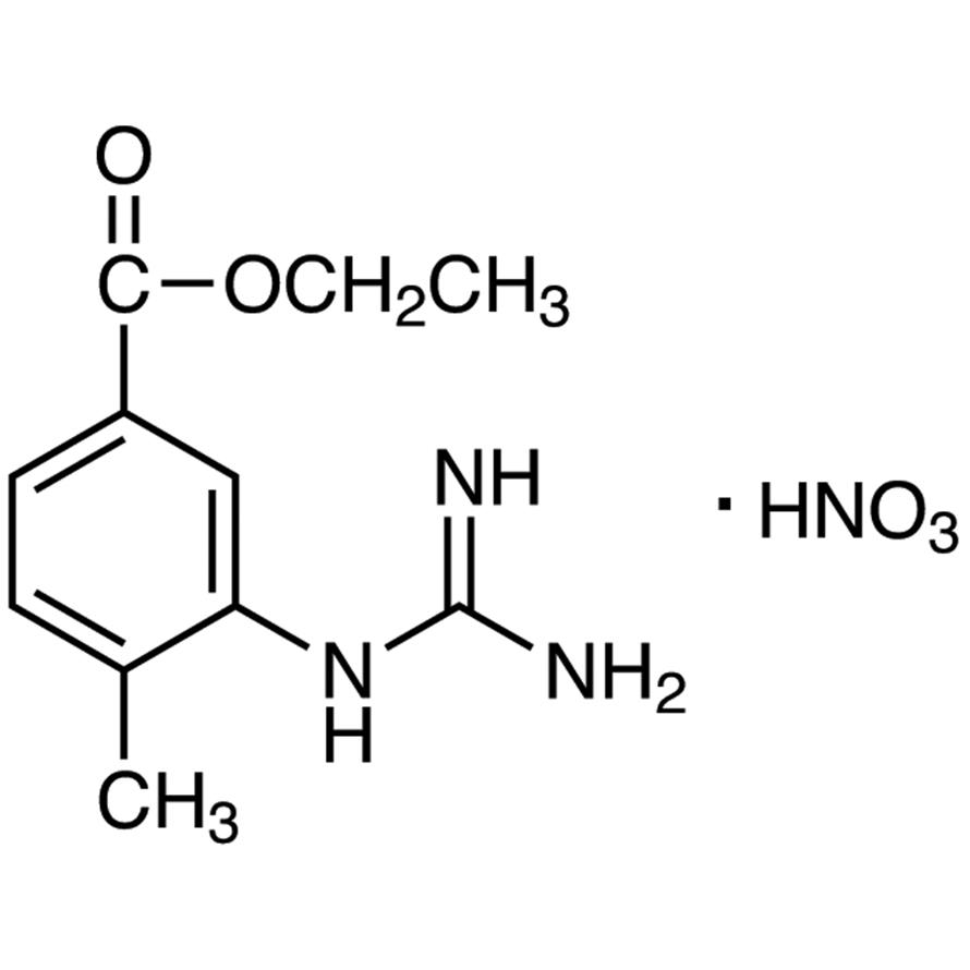 Ethyl 3-Carbamimidoylamino-4-methylbenzoate Nitrate