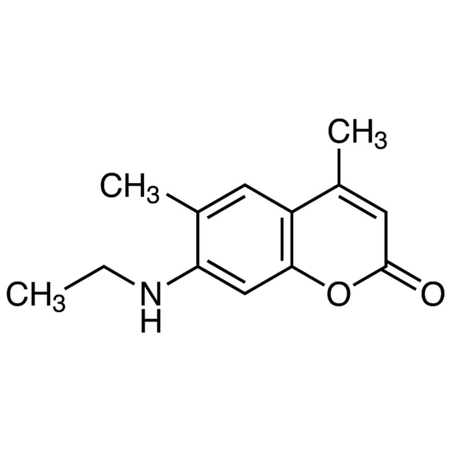 7-(Ethylamino)-4,6-dimethylcoumarin