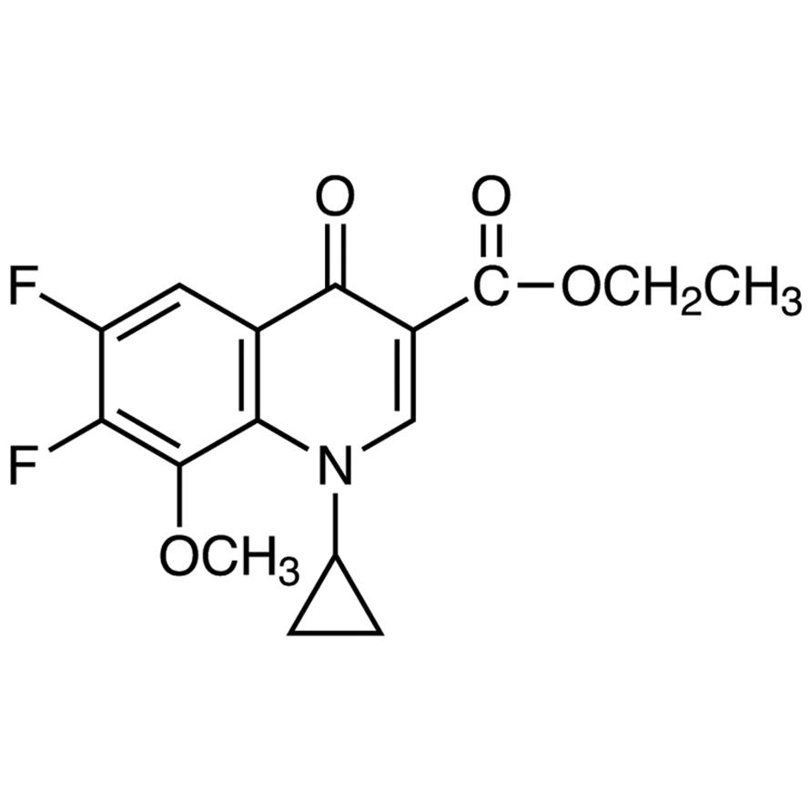 Ethyl 1-Cyclopropyl-6,7-difluoro-1,4-dihydro-8-methoxy-4-oxo-3-quinolinecarboxylate