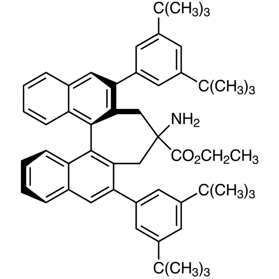 Ethyl (11bR)-4-Amino-2,6-bis(3,5-di-tert-butylphenyl)-4,5-dihydro-3H-cyclohepta[1,2-a:7,6-a']dinaphthalene-4-carboxylate