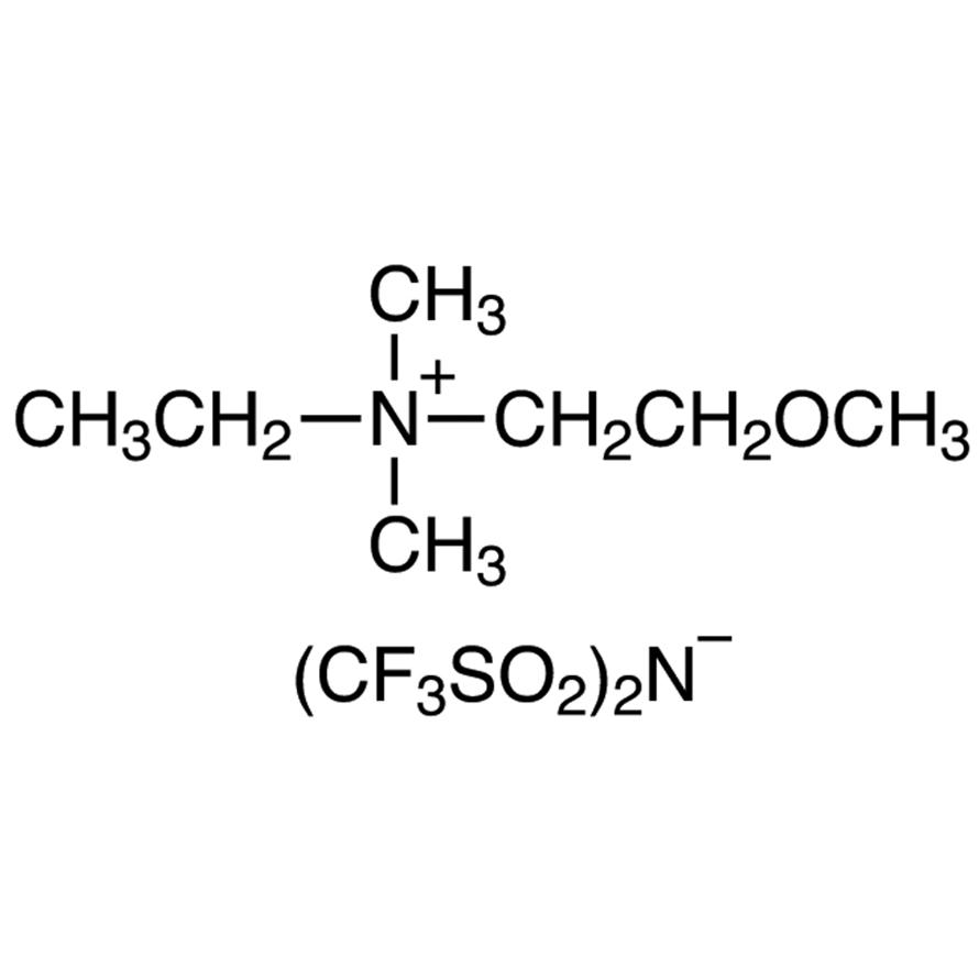 Ethyl(2-methoxyethyl)dimethylammonium Bis(trifluoromethanesulfonyl)imide
