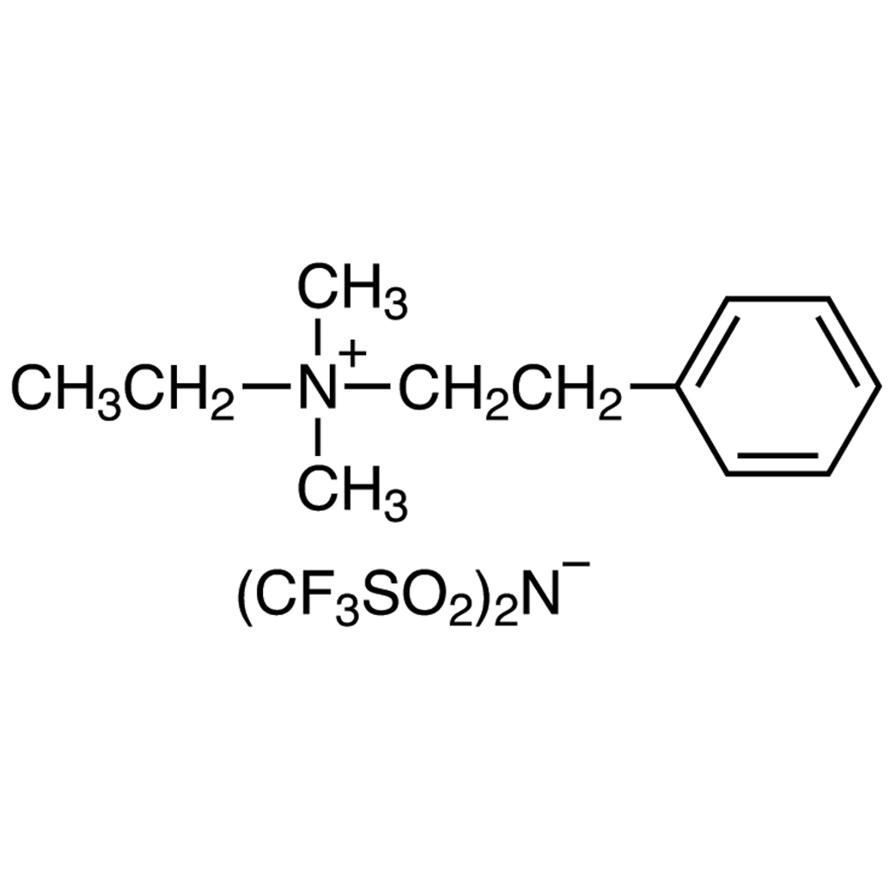 Ethyl(dimethyl)(2-phenylethyl)ammonium Bis(trifluoromethanesulfonyl)imide