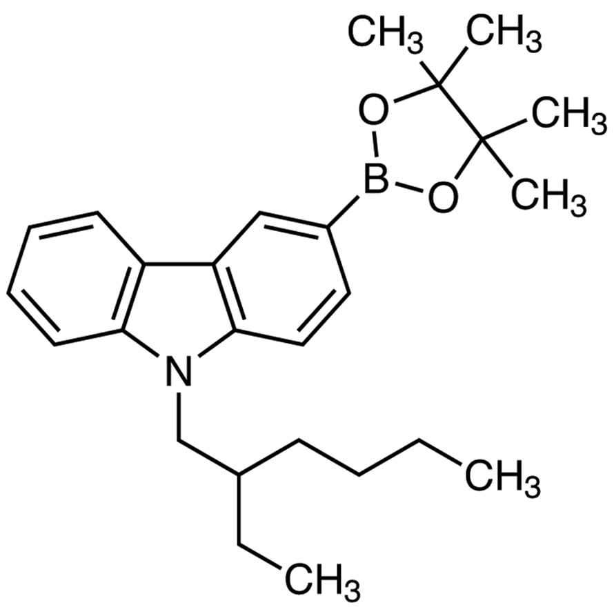 9-(2-Ethylhexyl)-3-(4,4,5,5-tetramethyl-1,3,2-dioxaborolan-2-yl)-9H-carbazole