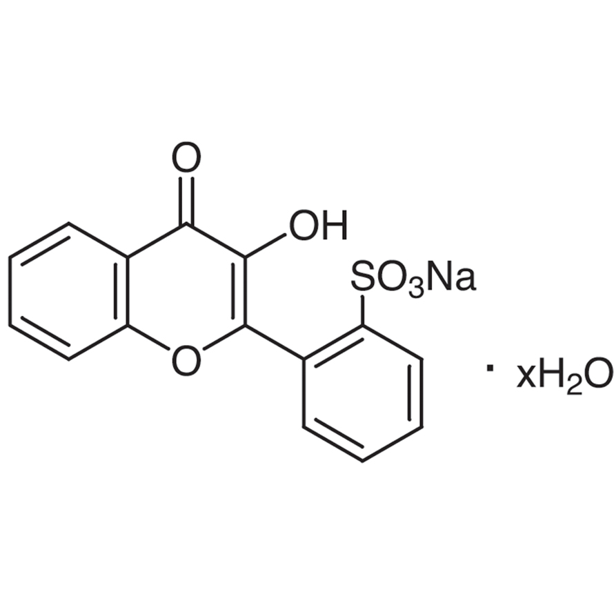 Sodium Flavonol-2'-sulfonate Hydrate [for Determination of Sn, Zr]