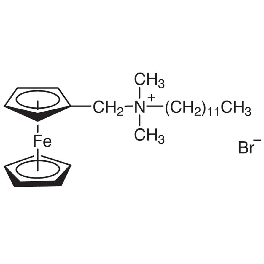 (Ferrocenylmethyl)dodecyldimethylammonium Bromide