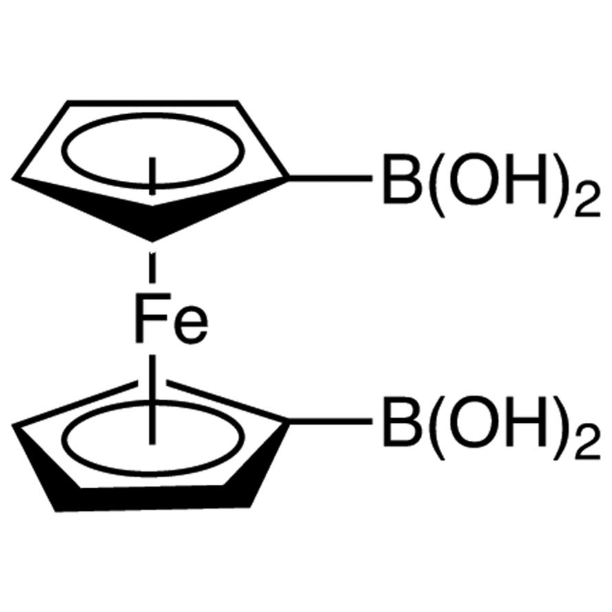 1,1'-Ferrocenediboronic Acid (contains varying amounts of Anhydride)