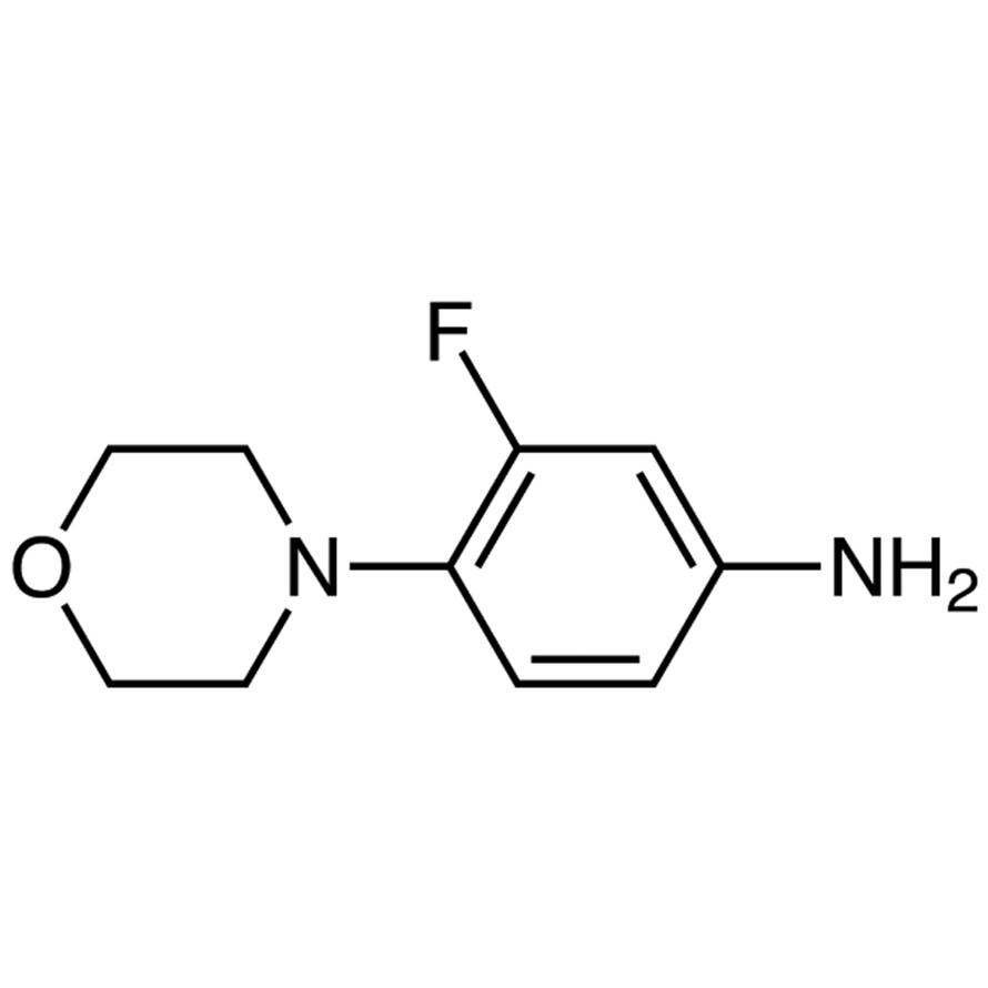 3-Fluoro-4-morpholinoaniline
