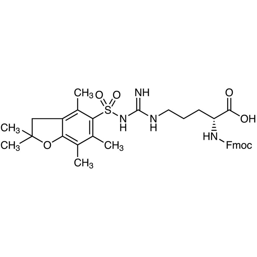 N-[(9H-Fluoren-9-ylmethoxy)carbonyl]-N-(2,2,4,6,7-pentamethyldihydrobenzofuran-5-sulfonyl)-D-arginine