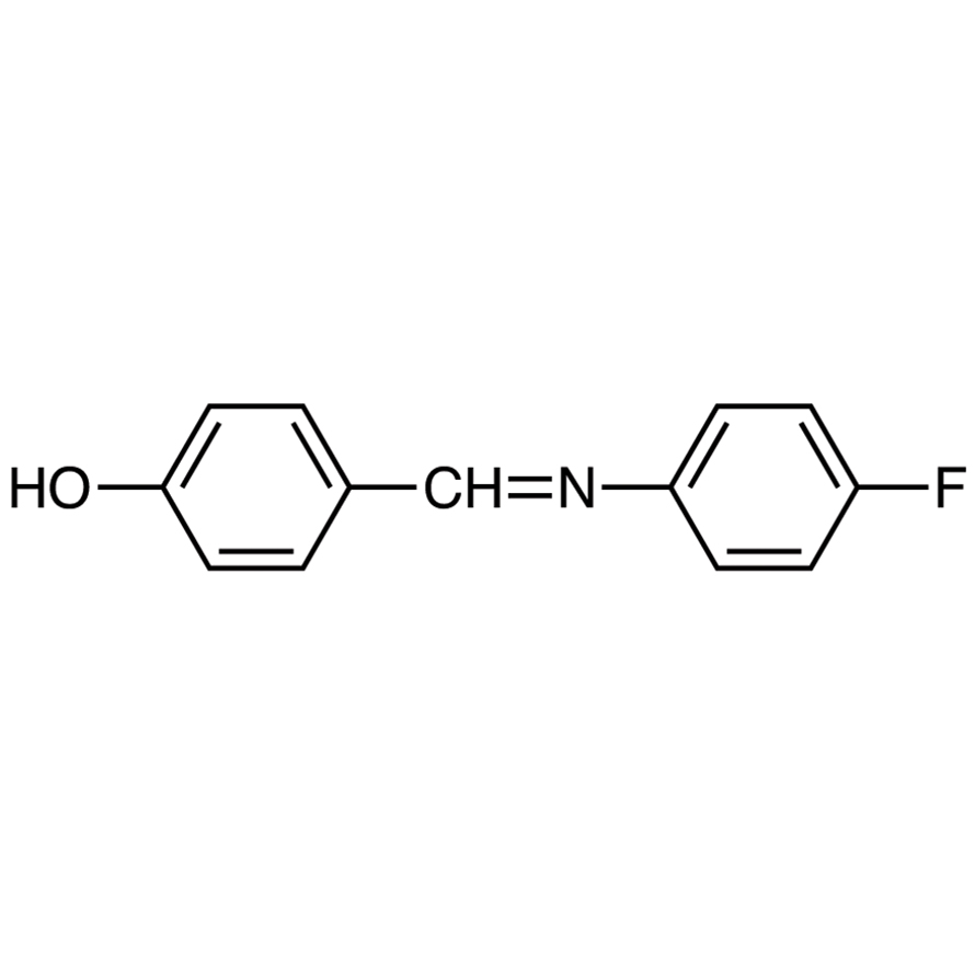 4-[[(4-Fluorophenyl)imino]methyl]phenol