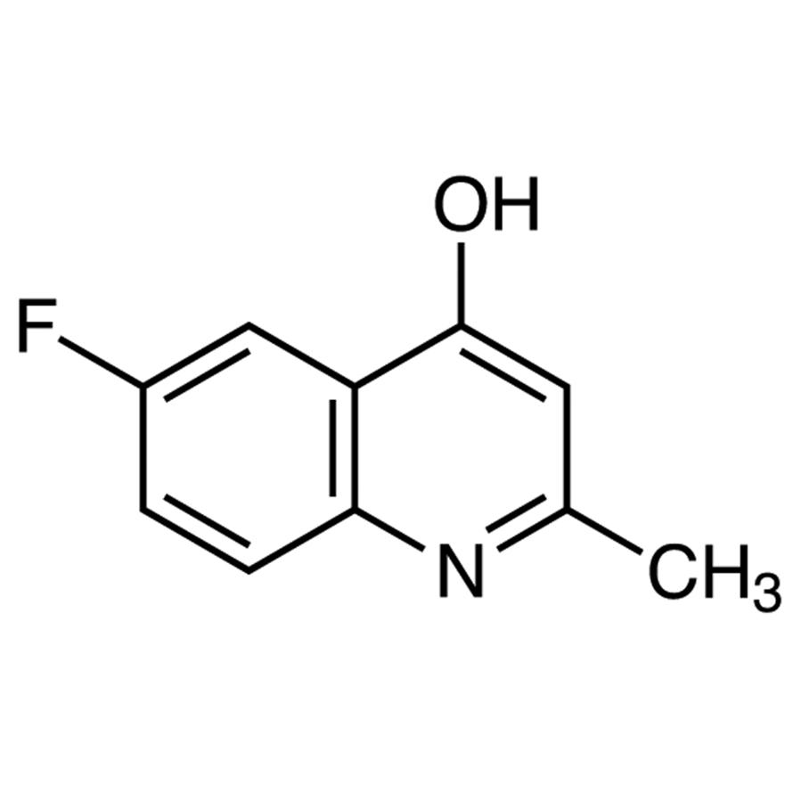 6-Fluoro-2-methyl-4-quinolinol