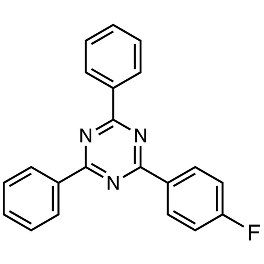2-(4-Fluorophenyl)-4,6-diphenyl-1,3,5-triazine